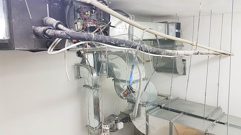 ремонт канального кондиционера